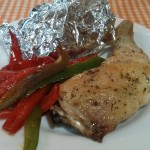 Hoy cocina el horno… pollo al horno con patatas asadas