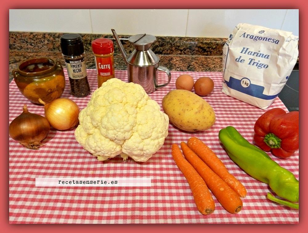 tortitas_de_cuscus_de_coliflor_ingredientes